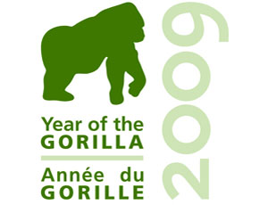 year of the gorilla logo