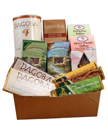 dagoba organic fair trade chocolate sampler