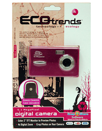 eco trends 5.1mp digital camera