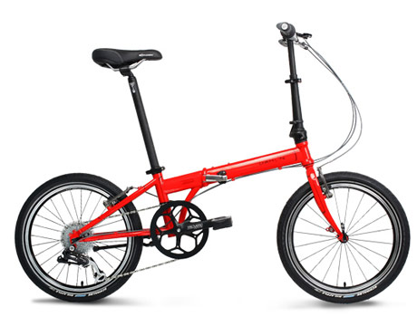 Foldable frame bicycle from Dahon, Dahon Speed P8