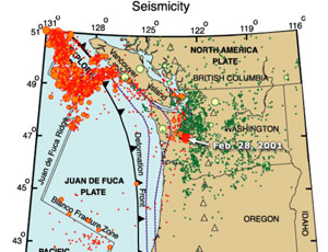 Earthquake and Tsunami Simulated in Pacific Northwest  The Daily