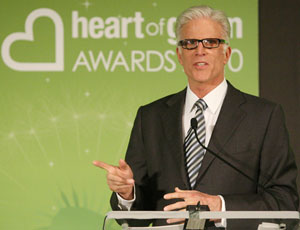 ted danson speaking at 2010 heart of green awards