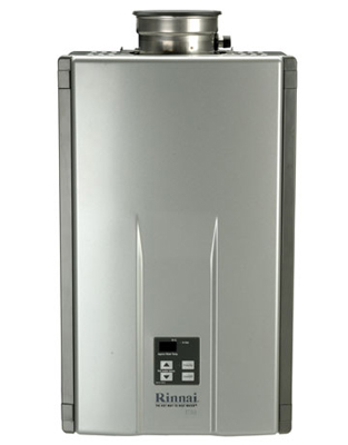 rinnai tankless water heater, on-demand, instantaneous water heater
