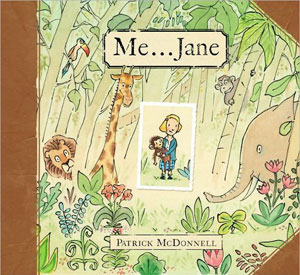 me...jane a children's book about jane goodall's childhood