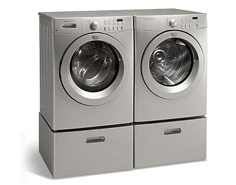 Kitchenaid Front Load Washer And Dryer Indoor Outdoor House Design